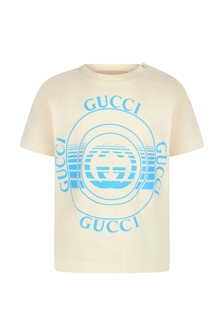 GUCCI Kids Cotton T-Shirt