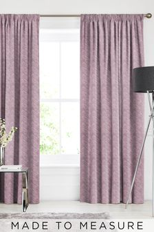 Bronte Rose Pink Made To Measure Curtains