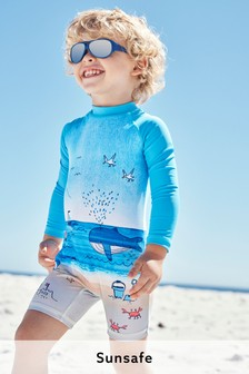 Beach Scene Sunsafe Swimsuit (3mths-7yrs)