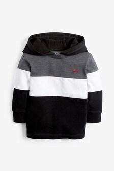 Long Sleeve Cosy Stripe Hoody (3mths-7yrs)
