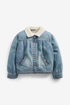 Borg Collar Jacket (3mths-7yrs)