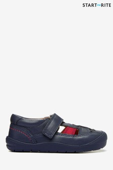 Start-Rite Bumble Navy Leather First Steps Shoes