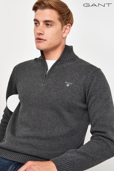 GANT Casual Cotton Half Zip Jumper