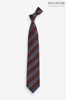 Stripe Signature Silk Tie
