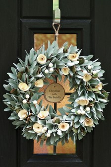 Personalised Lambeth Wreath by Dibor
