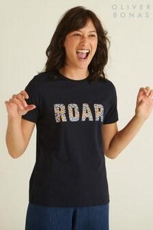 Oliver Bonas Blue Roar Jersey T-Shirt