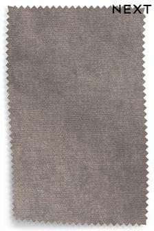 Antique Velvet Dark Mink Upholstery Fabric Sample