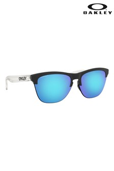 Oakley® Black/Blue Club Masters Sunglasses