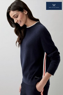 Crew Clothing Company Raglan Knitted Jumper