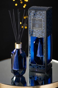 Sapphire Blue Faceted 180ml Diffuser
