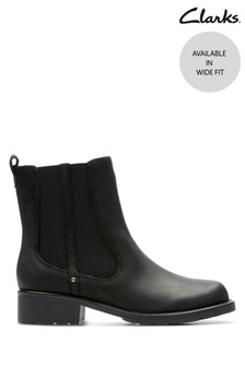 Clarks Black Orinoco Club Boots