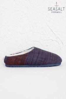 Seasalt Navy/Brown Nightjar Slippers