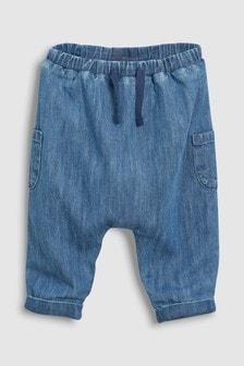 平織窄腳褲 (0個月至2歲)