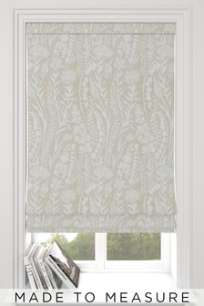 Garrick Stone Cream Made To Measure Roman Blind