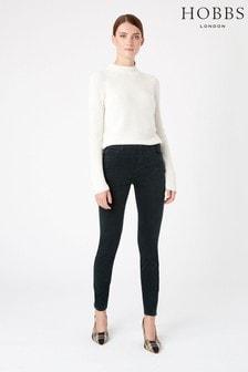 Hobbs Green Velvet Marianne Jeans