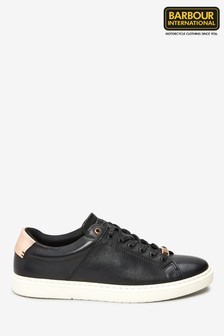 Barbour® International Black Herrera Trainers