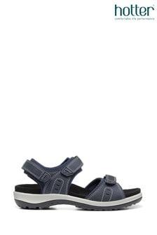 Hotter Walk II Slim Fit Touch Fastening Open Sandals