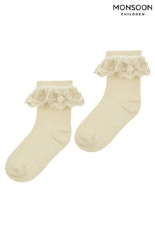 Monsoon Lace Socks Two Pack