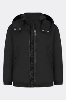 Moncler Enfant Girls Black Zanice Jacket