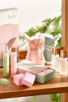 Spa Face And Body Relaxation Gift Set