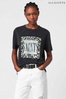AllSaints Black Boyfriend T-Shirt