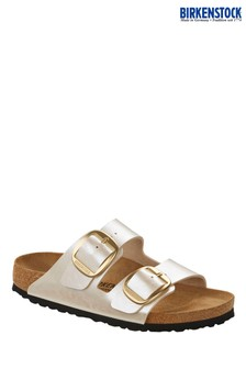Birkenstock® Pearl White Arizona Sandals