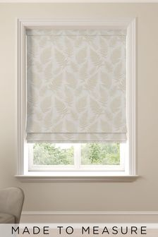 Clarissa Champagne Natural Made To Measure Roman Blind