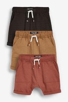 3 Pack Lightweight Jersey Shorts (3mths-7yrs)