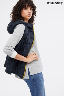 White Stuff Blue Winter Dallington Gilet