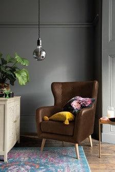 Emmett  Armchair With Light Legs