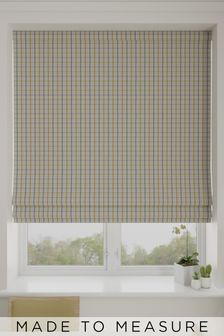 Malvern Zest Yellow Made To Measure Roman Blind