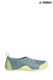 adidas Terrex Grey Kurobe Junior And Youth Slip-Ons