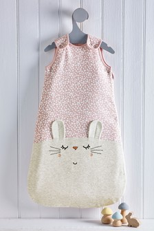 Bunny Face 2.5 Tog Sleep Bag