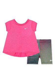 Nike Baby Girls Black Set
