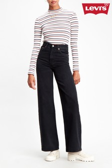 Levi's® Ribcage High Rise Wide Leg Jeans