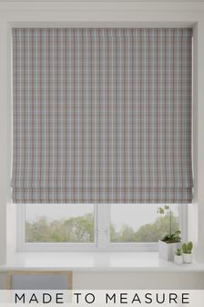 Malvern Paprika Grey Made To Measure Roman Blind