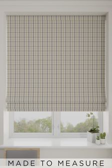 Malvern Biscuit Natural Made To Measure Roman Blind