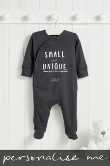 Personalised Slogan Sleepsuit