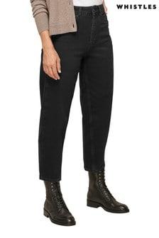 Whistles Organic Barrel Leg Denim Jeans