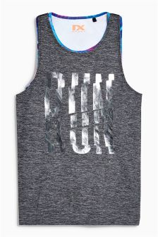 Sport Vest With Crop Top (3-16yrs)