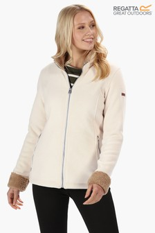 Regatta Cream Bernice Full Zip Fleece