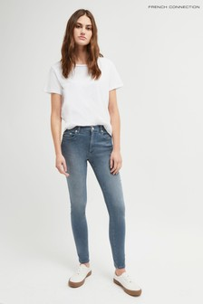 """French Connection Blue R Rebound 30"""" Skinny Jeans"""