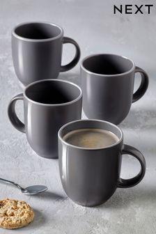 Set of 4 Warwick Mugs