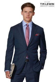 T.M. Lewin Maxwell Navy Slim Fit Infinity Suit Jacket