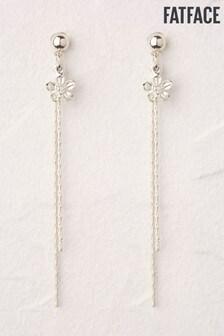 FatFace Flower Drop Earrings