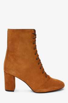 Signature Lace-Up Boots