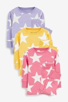 3 Pack Stampy Snuggle Pyjamas (9mths-8yrs)