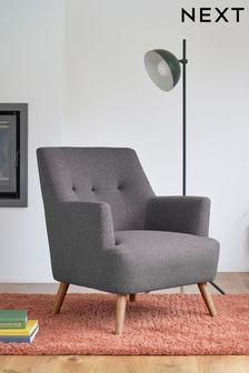 Carter Armchair with Light Legs