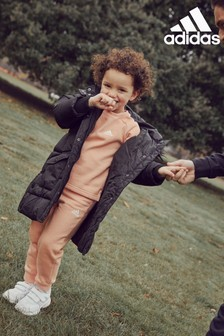 adidas Infant Future Icons Crew And Joggers Tracksuit