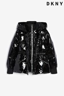 DKNY Black Padded Jacket